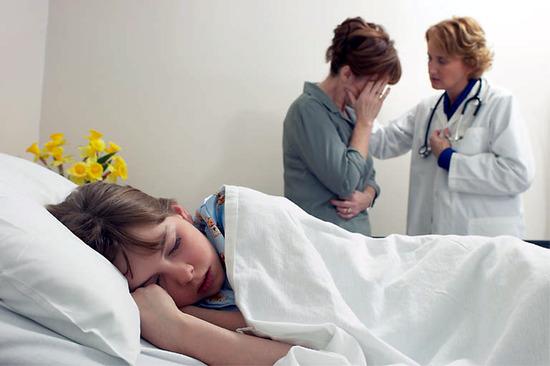 Ágyhoz kötött beteg a családban