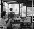 Ikarus 200-as autóbusz vizsgája a KÖTUKI-ban