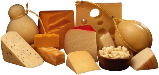 Tejtermékek - sajtok