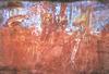Az Arnhem-föld nyugati részén (Ausztália) található, 2000-3000 éves sziklafestmény