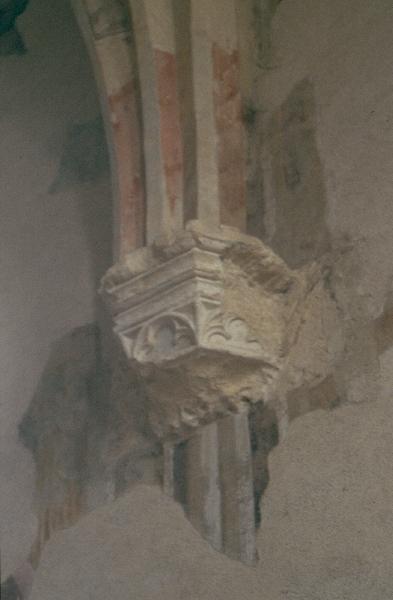 A siklósi ágostonrendi templom - boltozati konzol