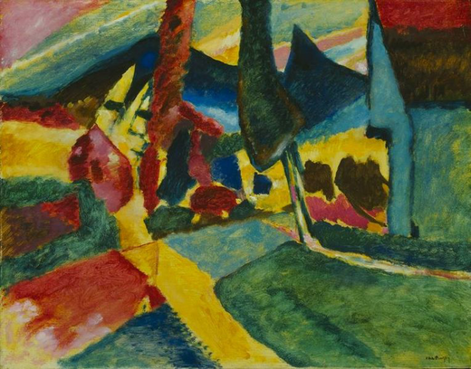 764px-Wasilly_Kandinsky,_1912,_Landscape_With_Two_Poplars,_78.8_x_100.4_cm,_The_Art_Institute_of_Chicago