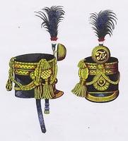 Tiszti csákó (1840-1848)