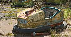 10 kép - Csernobili pusztulás