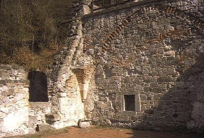 A visegrádi királyi palota - a keleti szárny harmadik terme