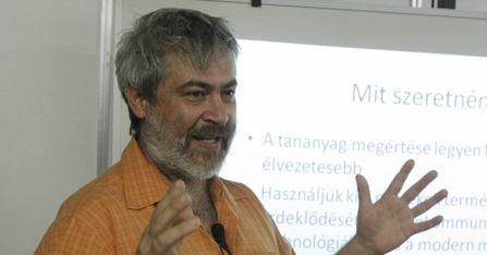 TeachMeet előadások az Educatio standján