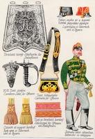 Huszártiszt felszerelés (1842-1848)