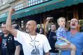 A VIII. Meleg- és Leszbikus Fesztivál ellen tüntetők