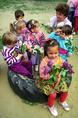 Anyák napi készülődés egy óvodában