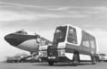 Minibusz a Ferihegyi repülőtéren