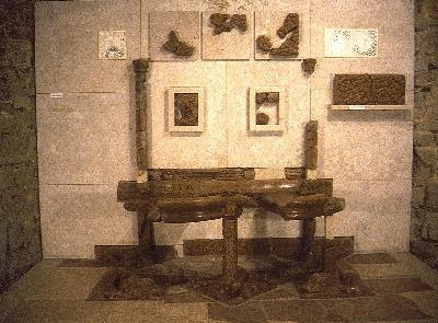 A visegrádi királyi palota - Oroszlános kút