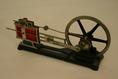 Gőzgép demonstrációs modellje