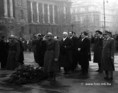 Román kormányküldöttség a Kossuth-szobornál