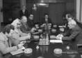 A Palesztinai Felszabadítási Szervezet küldöttségének tárgyalása