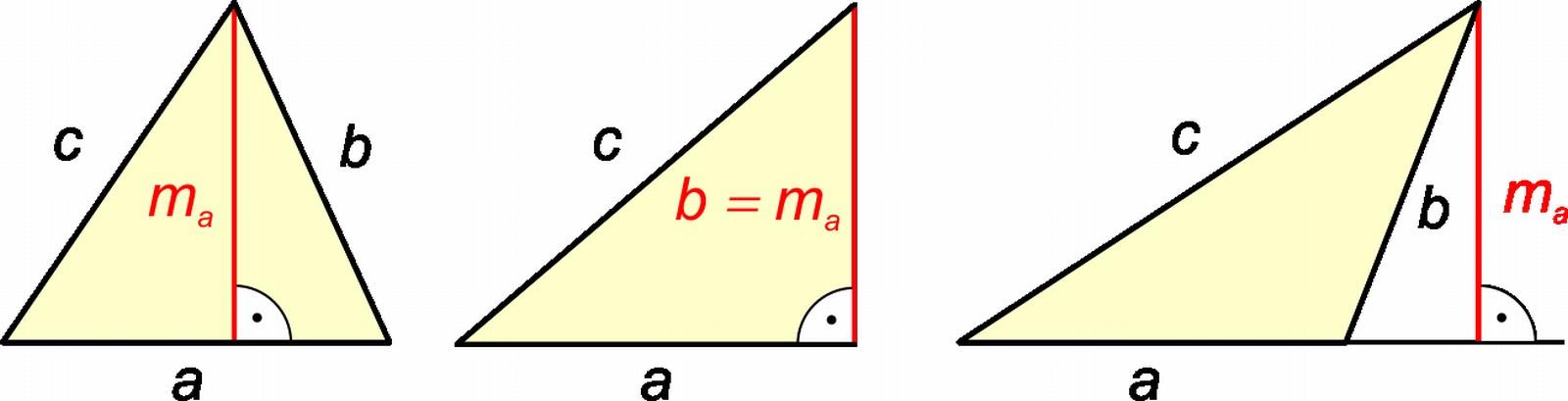 Háromszög magassága