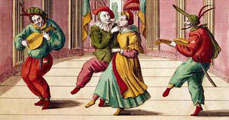 A commedia dell'arte figurái
